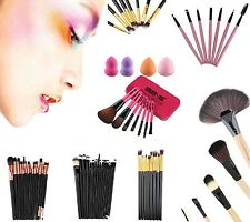 Pro 24/22/20/15/11/7/8 Pcs Makeup Brush Cosmetic Eyeshadow Powder Brush Set AU2