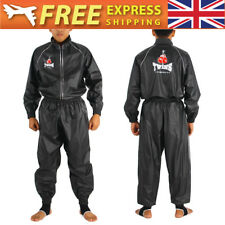 UK Twins MMA Sports Kick Boxing Mix Martial Arts Warm up Sweat Suit Black S-XXL