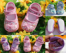 Sole NEW 2016 PU Leather Shoes Flower Shoes 0-18M Toddler Dot Baby Soft Infant