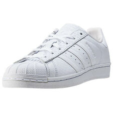 adidas Superstar W Womens Trainers White White New Shoes