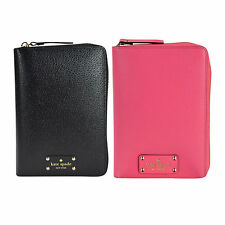 NEW Kate Spade Wellesley Texture Leather Zip Around Planner Personal Organizer