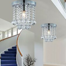 Modern Luxury Crystal LED Wall Light Ceiling Pendant Light Hallway Stairs Lamps