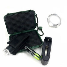 5000lm Zoomable CREE XML T6 LED 3-modes Flashlight Torch+18650+Charger+Case