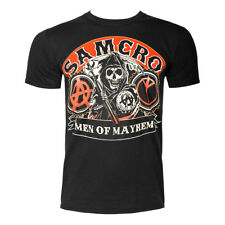 Official Sons Of Anarchy Unisex Samcro Reaper Logo T Shirt ALL SIZES - FX Merch