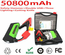 AU Portable 50800mAh Power Bank Auto Car Jump Starter Booster Battery Charger