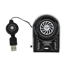 Protable  Vacuum USB Cooler Air Extracting Cooling Fan for Notebook Laptop LU