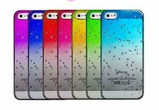 New Hard Back Raindrop Case Cover for Apple iPhone with FREE Screen Protector QW