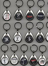 SKINHEAD & Oi KEYRING metal swivel style various designs