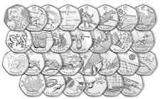 2012 OLYMPIC 50P COINS! FULL SET! EVERY COIN! DATED 2011! 50 PENCE! GREAT CONDIT