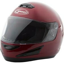 GMAX GM38 Full Face Motorcycle Helmet Candy Red
