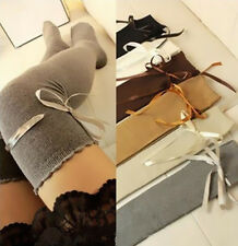 1 Pair Fashion Over Women Autumn Socks Thigh High Girl The Knee Lady Stocking