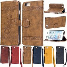 New Luxury PU Leather Flip Wallet Cards Stand Cover Case For Apple iPhone 6/6S