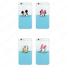 Disney Mickey Soft Thin TPU Dust Plug Case Cover Skin for iPhone 6 6s Plus