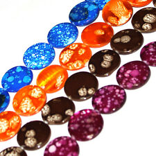 """Jewelry Making Beads 20mm Coin Multicolor MOP Shell Gemstone Spacer Strand 15"""""""