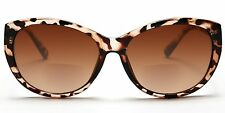Women's BiFocal SunReaders Fashion Wayfarer Sunglasses Brown Tortoise