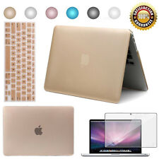 """Hard Case Shell Cover for MacBook Pro 13"""" 15"""" Air 11"""" 12"""" Laptop + 2 Protectors"""