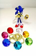 Sonic the Hedgehog Series -  Chaos Emeralds and Power Rings