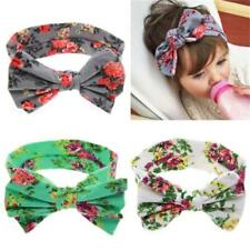 Baby Girls Toddlers Kids Floral Big Bow Hair band Headband Headwear Accessories