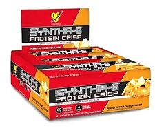 BSN Syntha-6 PROTEIN CRISP BARS (1 BOX / 12-PACK) 20g protein low sugar syntha6