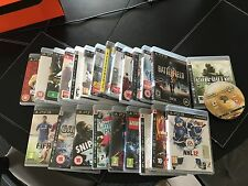 PS3 Games various. $3.00 to $15.00, plus postage