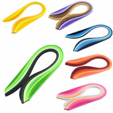 Solid Color DIY Hand Craft Quilling Paper 3mm Width Origami Paper 120 Stripes