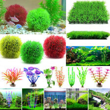 Artificial Grass Plastic Water Plants Decoration Ornament For Aquarium Fish Tank
