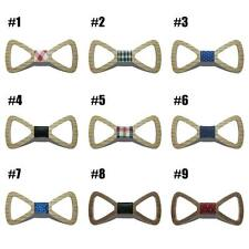 Cute Kids Boys Wood Bow Tie Child Butterfly Hollow Out Bow Ties Wooden Bow Ties