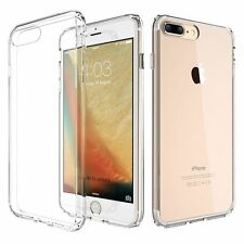 Soft TPU With Anti-Dust Plug Phone Case Cover Transparent for IPhone 7/ 7 Plus