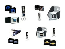 Buckle Down Licensed Cars Logo Sets Seatbelt Buckle Belt - Wallets - Keychains