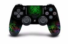 Weed Skull DUALSHOCK PS4 Wireless Modded Controller PlayStation 4, Rapid Fire