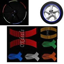 Motor Rim Motocyle Car Motorcycle Tape Wheel Stickers Stripe Reflective
