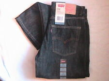 Levis 550 RELAXED FIT Black JEANS Tapered Leg SIT BELOW WAIST 29 X 29 MEN 18 Reg