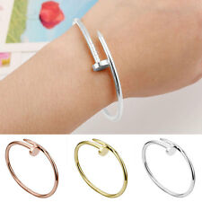 Charm Women Men Stainless Steel Chain Punk Rock Bangle Bracelet Jewelry BD