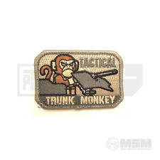 Original Mil-Spec Monkey MSM Tactical Trunk Patches Freeshipping Worldwide