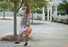 Anthropologie Peonia Jumper Size LP, Floral Print Jumpsuit Romper By Elevenses