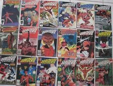 Marvel Comics: DAREDEVIL Lot (18) Copper Age Books with a GIFT Issue
