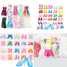 Fashion High Heel Boots Clothes Dresses For 29cm Barbie Doll Style&Color Random