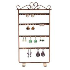 Fashion Metal 48 Holes Earrings Ear Studs Holder Stand Jewelry Display Rack