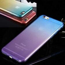 Colorful Silicone Gel Soft Case Cover For iPhone 5C TEMPERED GLASS +OTHER MODELS