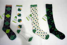 New St. Patrick's Day Knee High Socks Adult Size Select Patterns