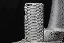 Luxury Genuine Python Snake Skin Leather Back Cover Case For iPhone 7 & Plus New