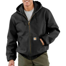 Carhartt Duck Active Jacket - Thermal Lined - BLACK