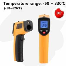 PRO Non-Contact LCD IR Laser Infrared Digital Temperature Thermometer Gun UF