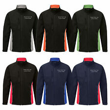 Personalised Embroidered Softshell Jacket Silverstone Text or Logo Custom Print