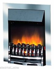DIMPLEX WYNFORD WYN20CH ELECTRIC INSET FIRE FAN HEATER WITH REAL COALS