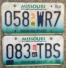 🏁 🏁 🌟🌟🌟 AUTHENTIC USA 90's-2000's LICENSE PLATES