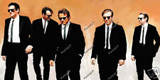 Reservoir Dogs Oil Painting Hand-Painted Art on Canvas Signed Not a Giclee Print