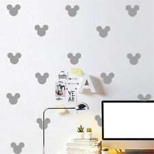 Mickey Mouse Wall Sticker Kid Baby Nursery Home Removable Vinyl Decor Mural Art
