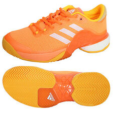 Adidas 2017 Men's Barricade Tennis Shoes Orange BA9104