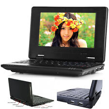 """7"""" Android Mini Notebook 4GB/8GB Quad Core Laptop PC Netbook Keyboard WIFI TOP"""